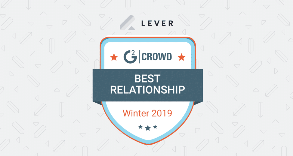 Lever the Best in G2 Crowd Relationship Index