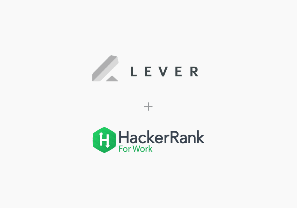 Streamline Tech Recruiting | HackerRank and Lever