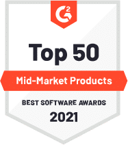 top 50 mid-market products 2021