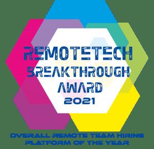 RemoteTech Award Badge 2021