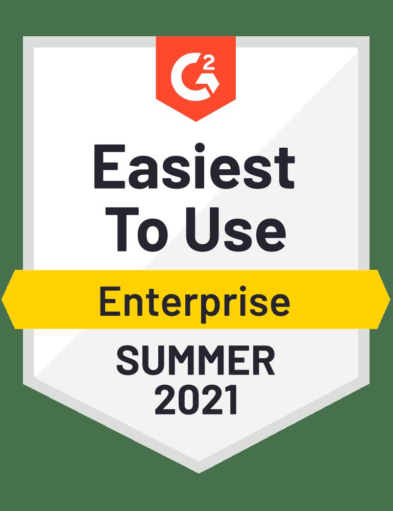 Award Badge easiest to use Enterprise Recruiting Software