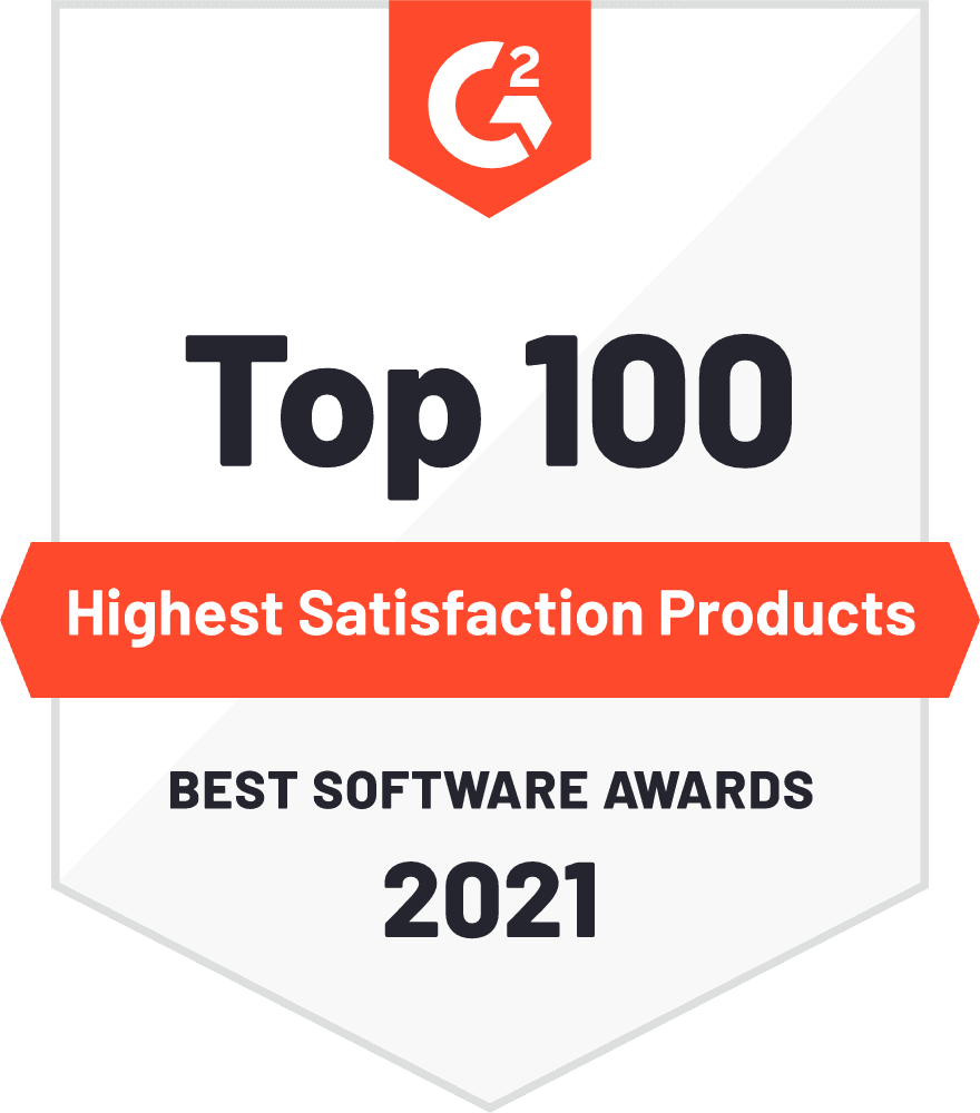 Award Badge Highest Satisfaction Enterprise Recruiting Software