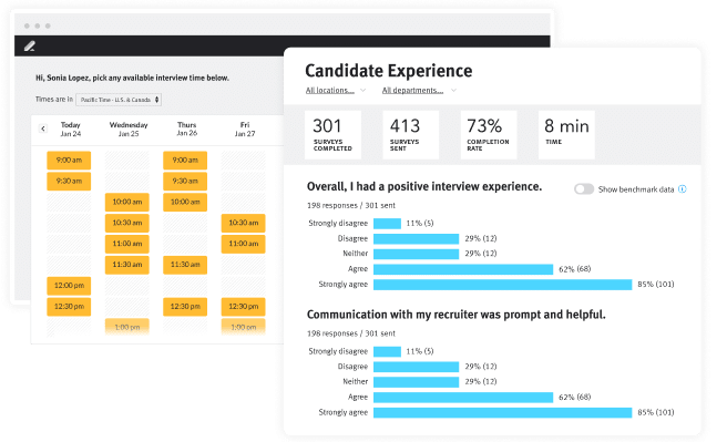 Lever Product screen custom DEI dashboards for talent acquisition software