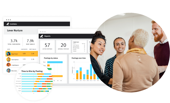 Lever Scale screen for talent acquisition software