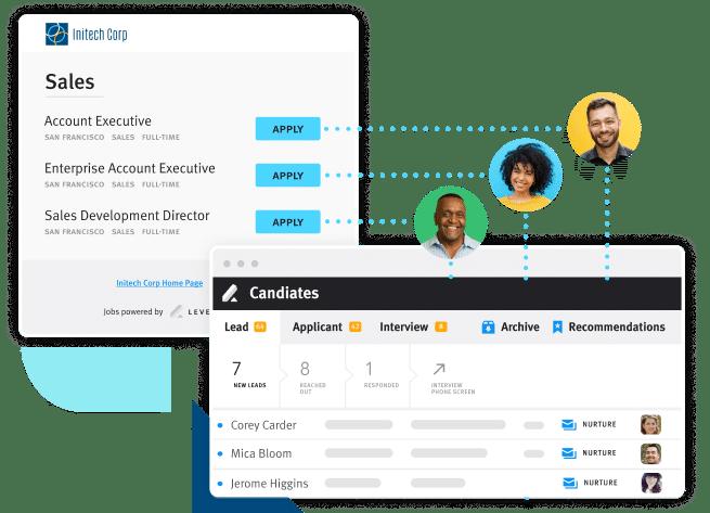 Product Screen Fill Pipeline Job Board Software