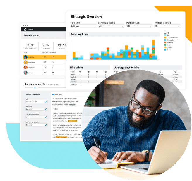 Product screen talent acquisition software