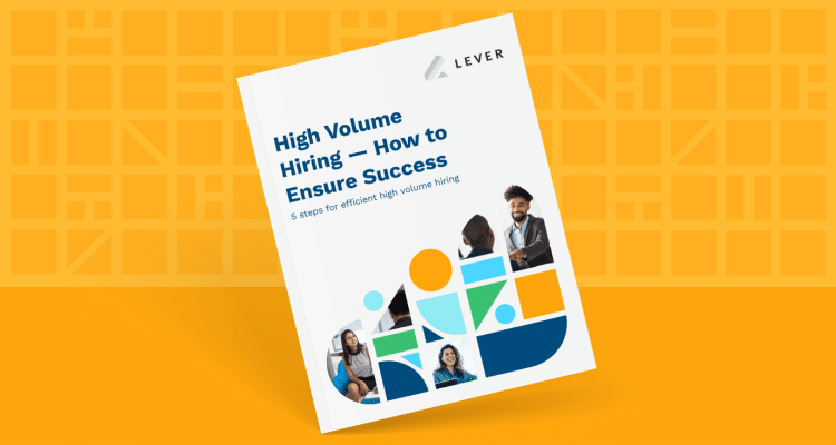 High Volume Hiring eBook Cover Graphic