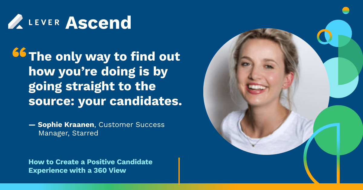 lever ascend candidate experience