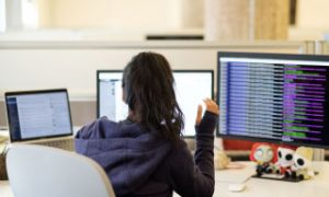 team-working-at-desk